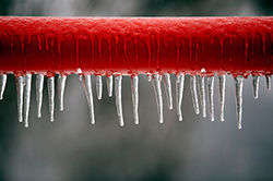 Amvic Blog - Prevent frozen pipes at home