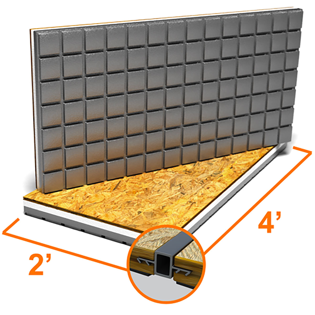 Basement Subfloor Options For Dry Warm Floors: Amdry: Insulated Subfloor Panels For Warmer Floors