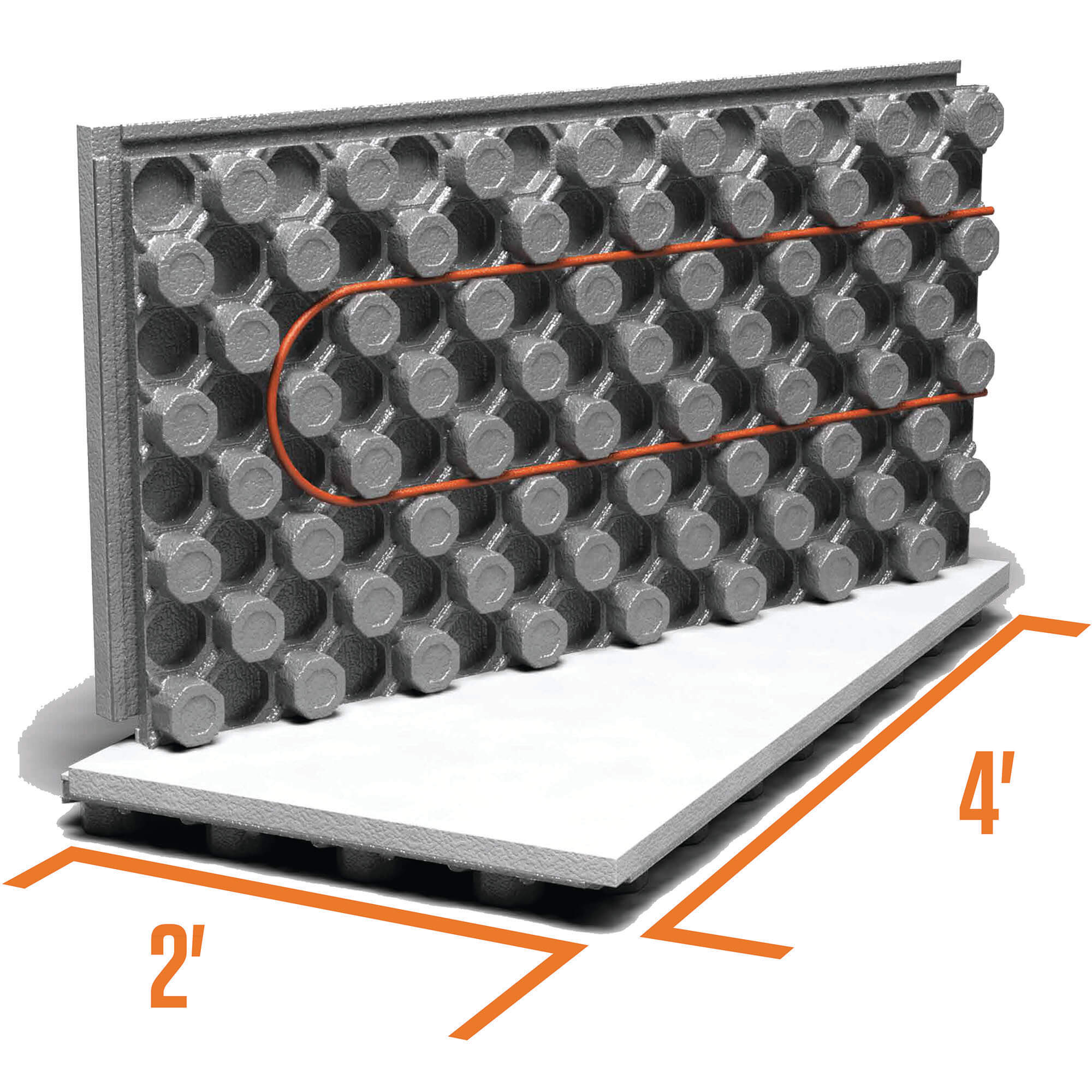 Ampex: Insulated Radiant Floor Heating Panel