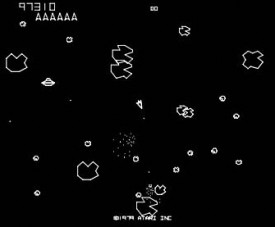 What an asteroid field may look like. maybe...