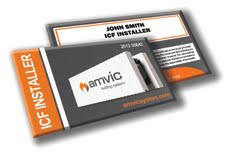 Amvic Launches New Installer Cards