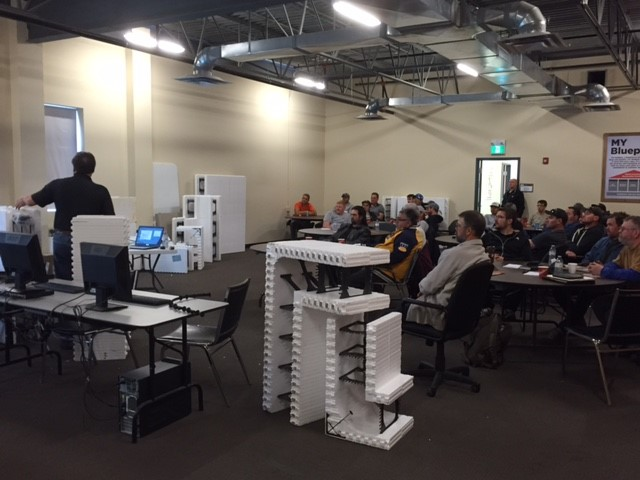 Contractor Training with Amvic Building System