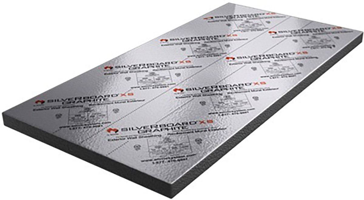 SilveRboard Graphite: Carbon Graphite Rigid Foam Insulation