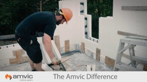 Build to a higher standard with Amvic Insulated Concrete Forms (ICF)