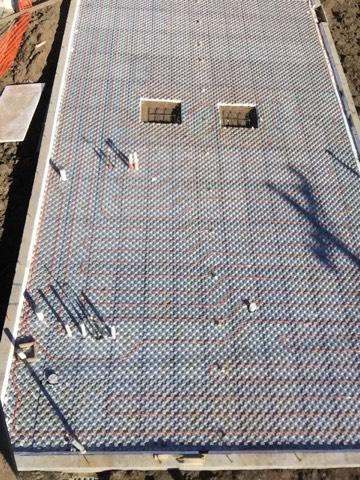 Ampex Hydronic Radiant Floor Heating Amp Pex Panels Amvic