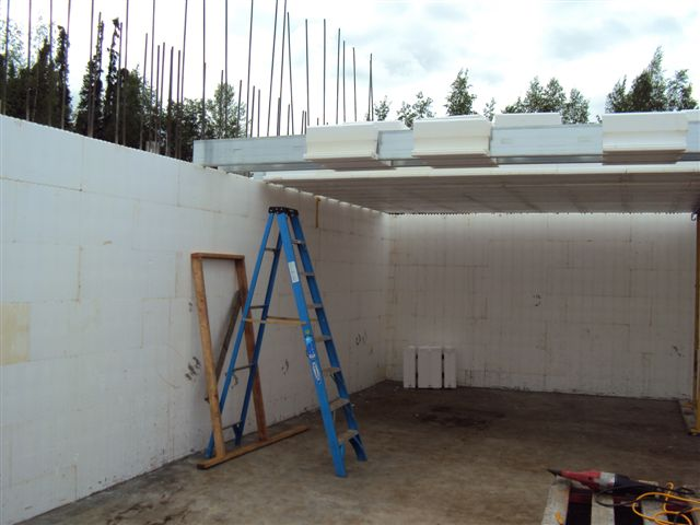 ICF Home with Amdeck Roof
