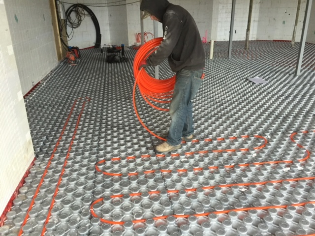 Ampex Hydronic Radiant Floor Heating Amp Pex Panels Amvic