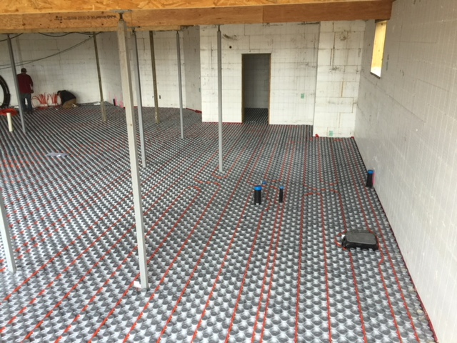 Ampex: Hydronic Radiant Floor Heating & Pex Panels | Amvic