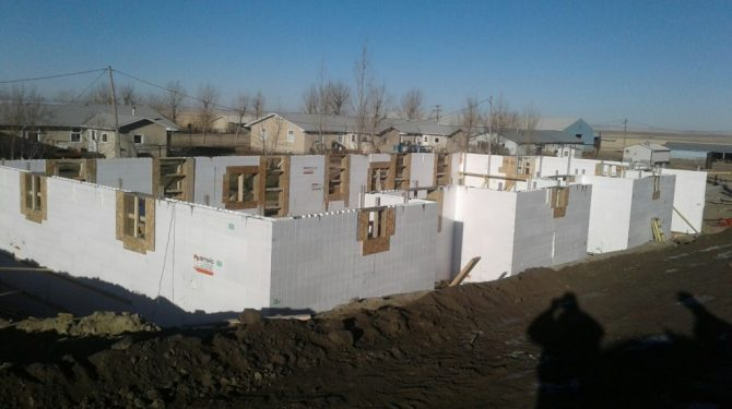 ICF Multifamily Home in Southern Alberta