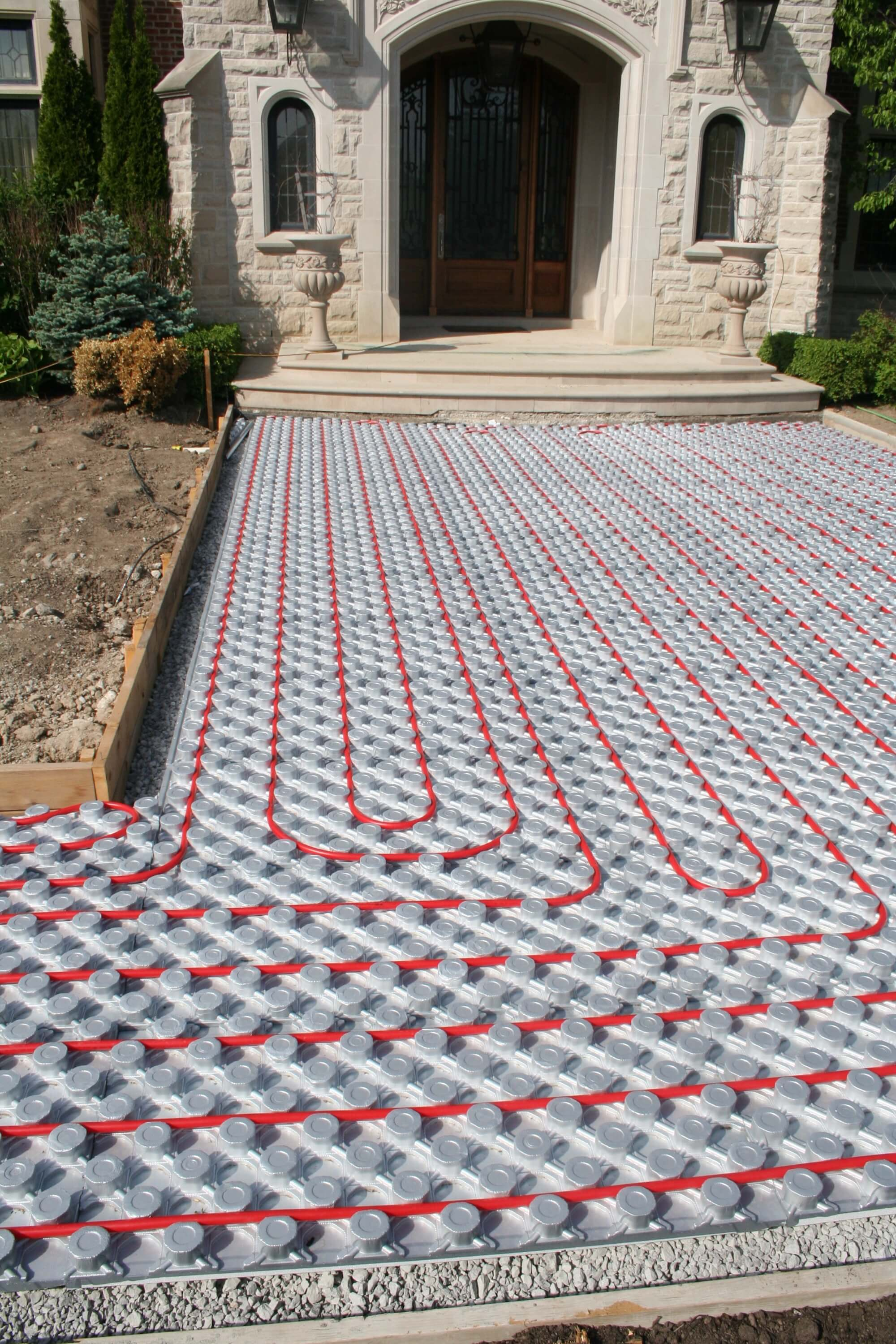Driveway Amp Walkways Outdoor Radiant Heating Panels Amvic
