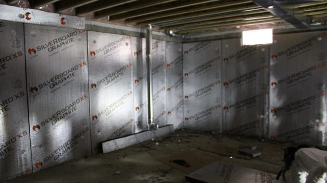 Interior Wall Insulation, Ontario