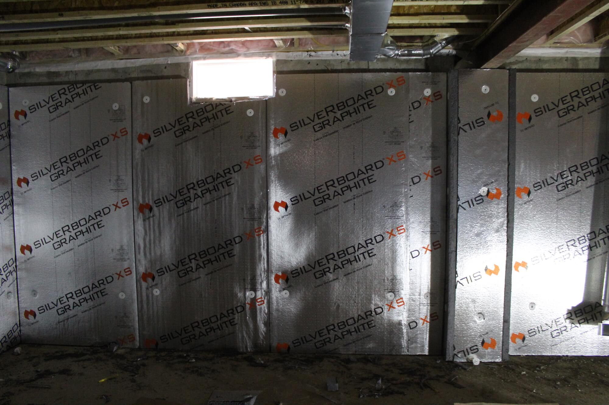 Basement Amp Foundation Insulation Interior Amp Exterior Amvic