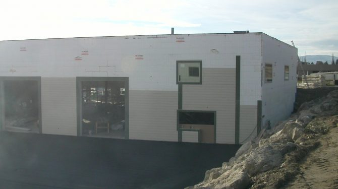 ICF Warehouse in British Columbia