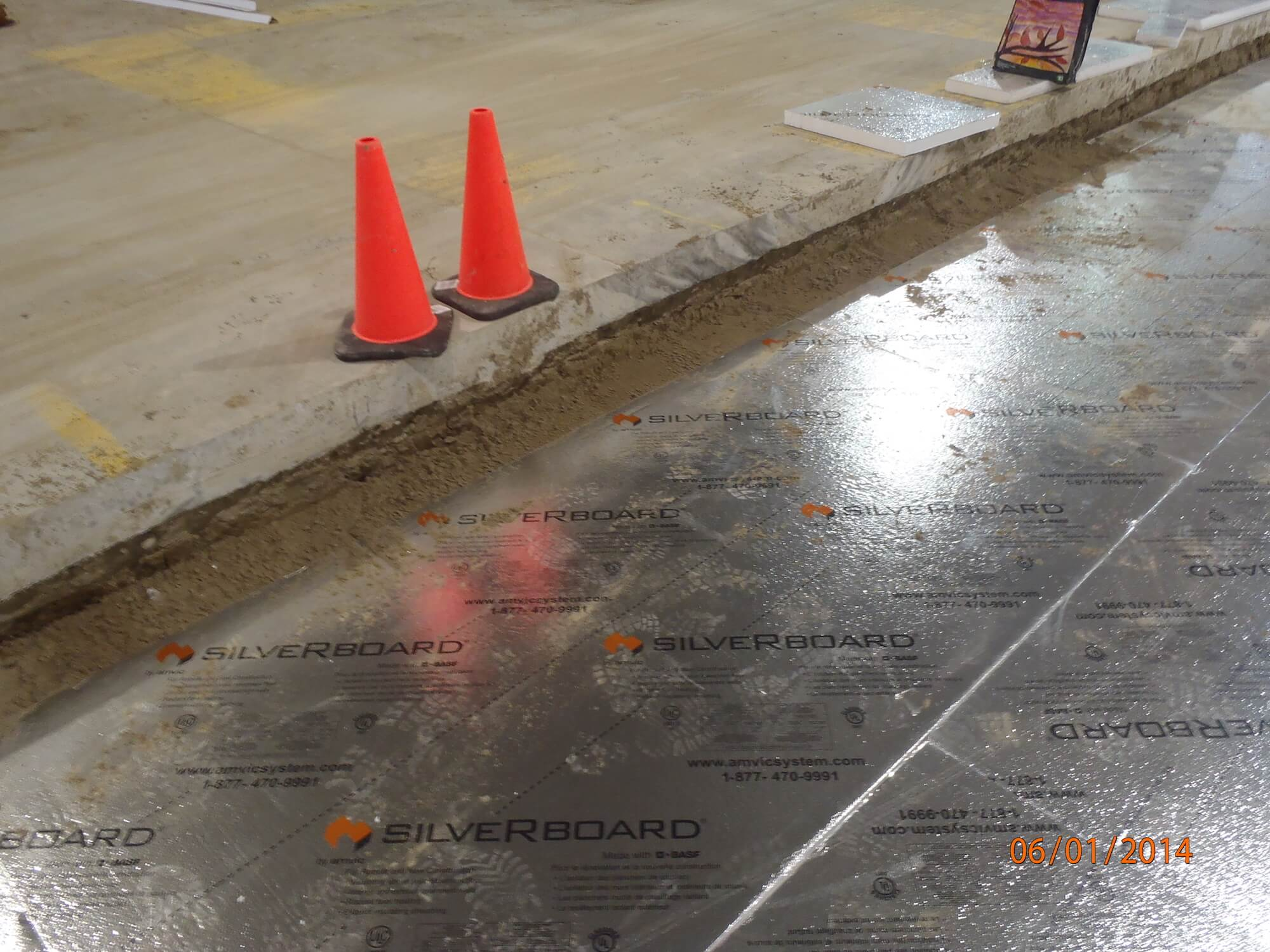 Silverboard Reflective Amp Under Slab Eps Insulation Amvic