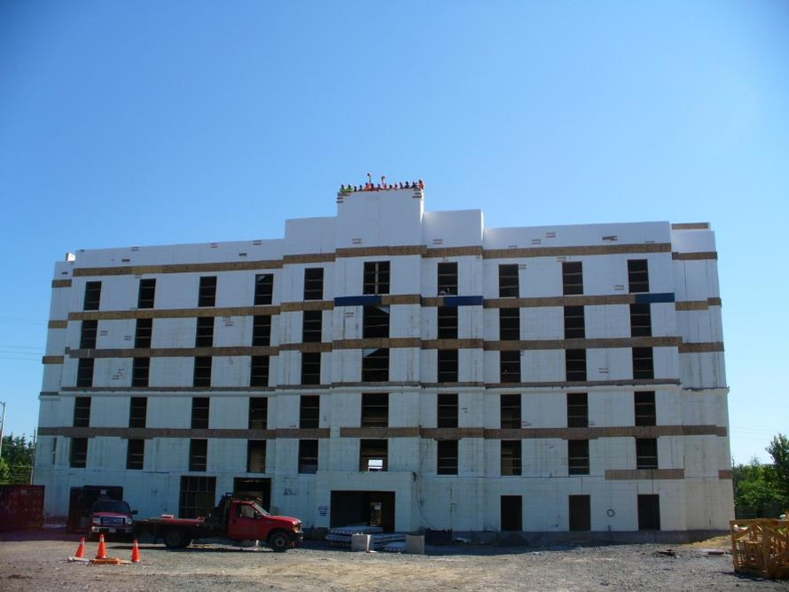Hampton Inn ICF Multistory Building