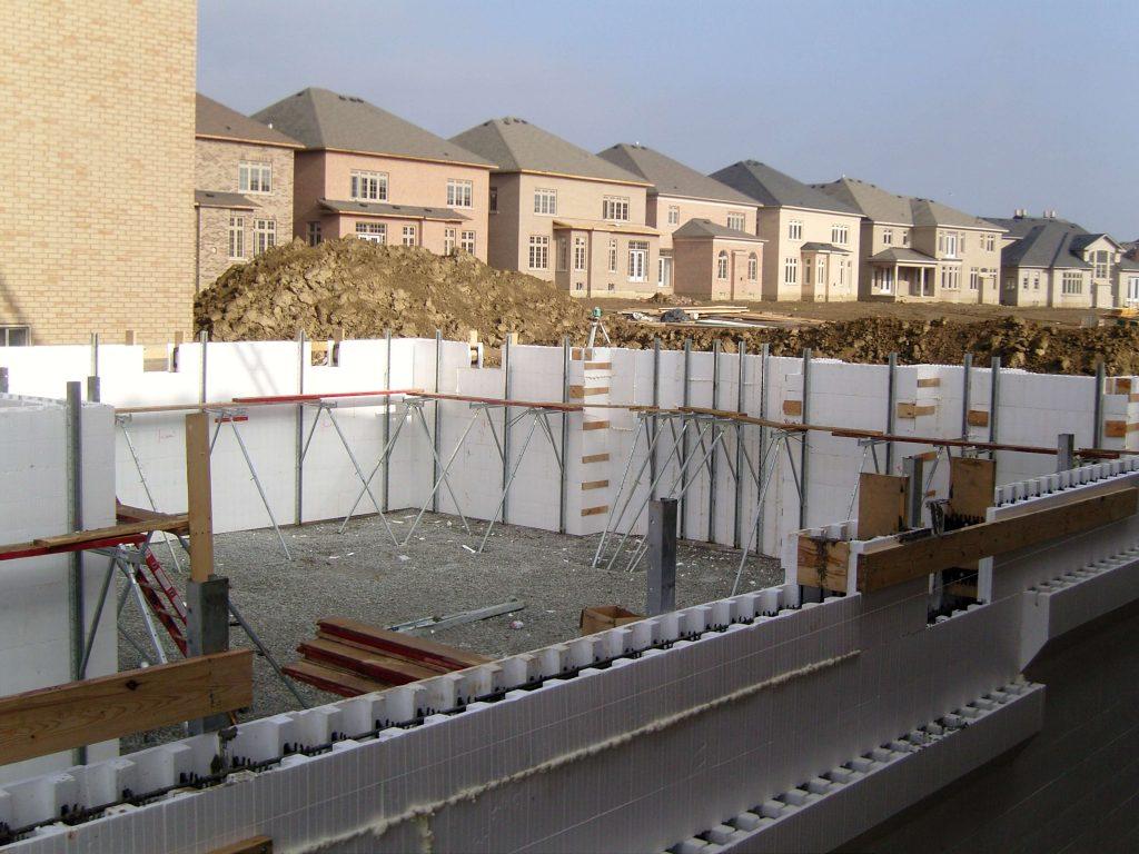 Basement foundation insulation interior exterior amvic - Basement exterior wall insulation ...
