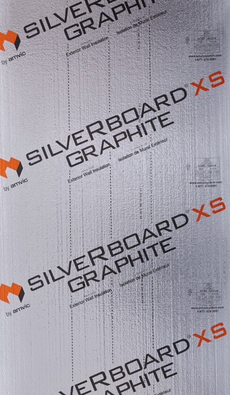 Silverboard Graphite Carbon Graphite Rigid Foam Insulation