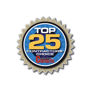 Top 25 Contractors' Choice