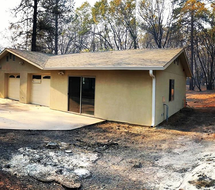 Building a Fire Safe Home: How this home survived the devastating campfire in Paradise, California