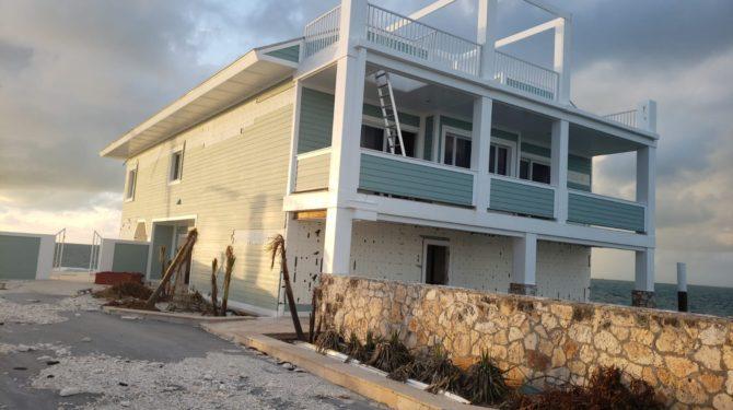 Amvic ICF Home Survives Hurricane Dorian as Surroundings Collapse