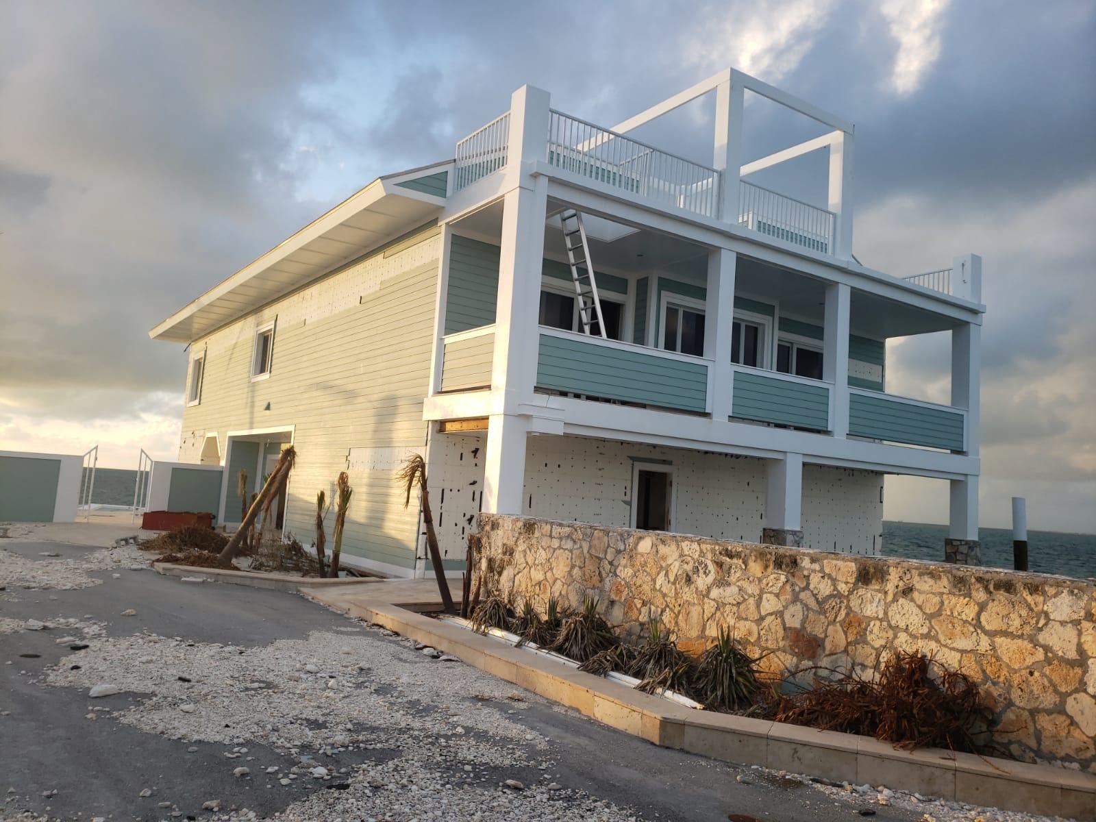 Amvic Icf Home Survives Hurricane Dorian As Surroundings