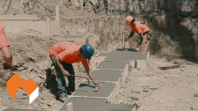 Amvic ICF   Installation Guide   Part 7 – Preparing Footings and Slab on Grade