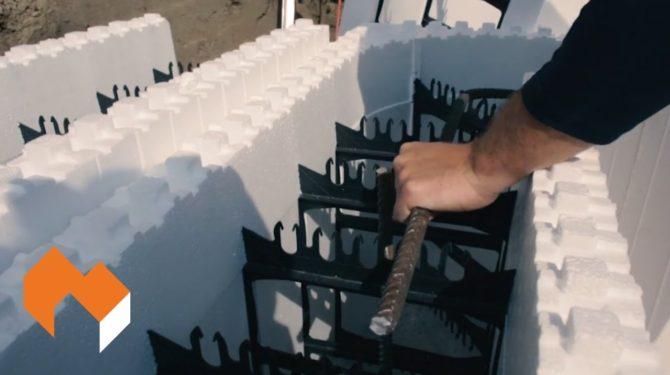 Amvic ICF   Installation Guide   Part 6 – Steel Reinforcement for Walls