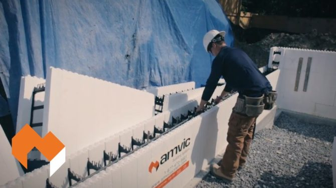 Amvic ICF   Installation Guide   Part 4 – Construction Overview